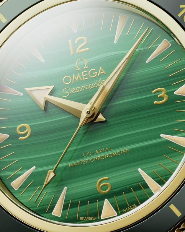 Omega Seamaster 300 malachite