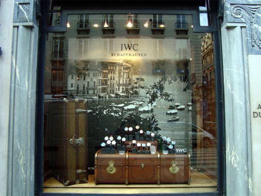 IWC chez Dunhill à Paris