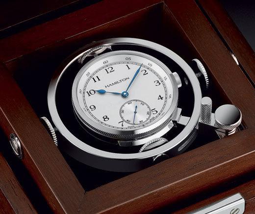 Hamilton Khaki Navy Pioneer Edition Limitée : montre et chronomètre de marine… à la fois