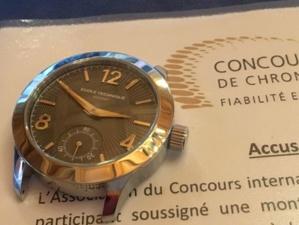 Concours de Chronométrie : c'est parti pour l'édition 2019