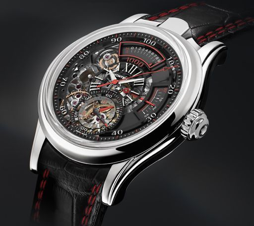 Montblanc TimeWriter II Chronographe Bi-Fréquence 1.000