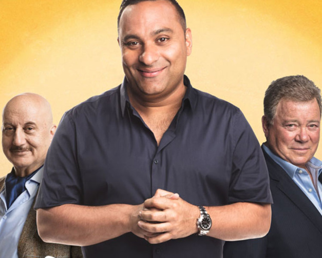 The indian detective Russell Peters Rolex Daytona