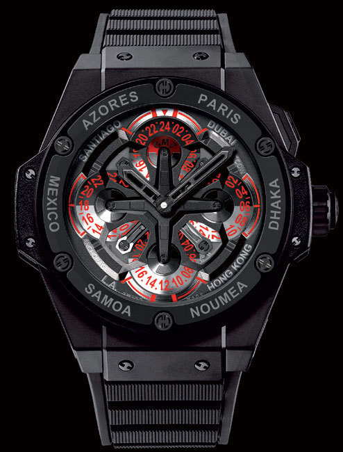 Hublot King Power Unico GMT : tour du monde en Hublot