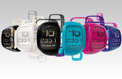 Swatch Touch : la montre à écran tactile passe sur le petit écran !