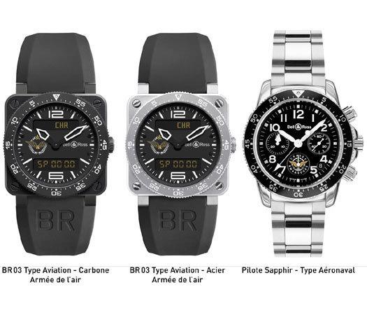 Bell & Ross : trois montres et trois bonnes performances pendant la vente Artcurial d'objets aéronautiques