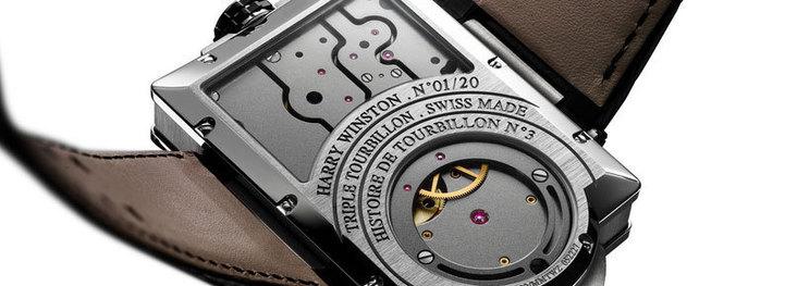 Harry Winston : Histoire de Tourbillon 3 ou l'alliance de la haute horlogerie à un esprit d'avant-garde…
