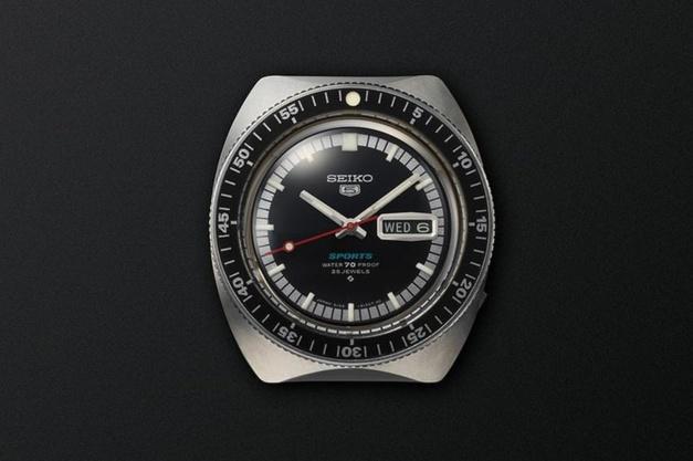 Première Seiko 5 de 1968