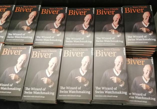 Jean-Claude Biver à Singapour pour signer son livre et visiter l'expo Patek