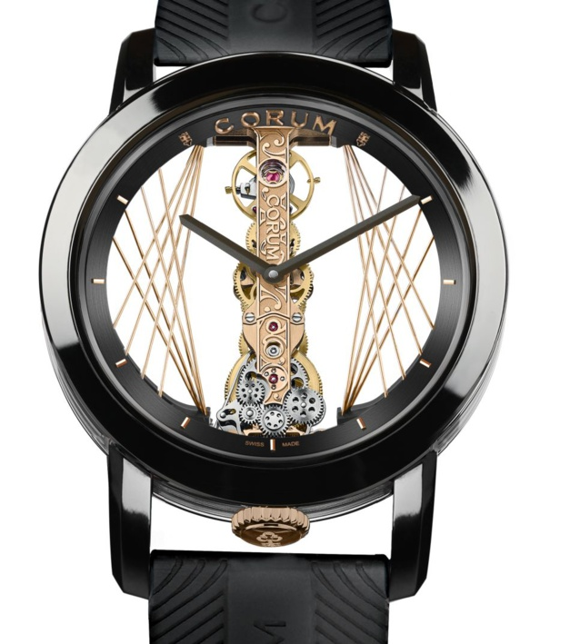 Corum Golden Bridge Round 43 Art Déco