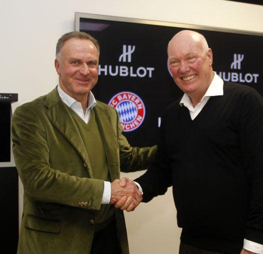 Hublot : chronométreur officiel du FC Bayern Munich