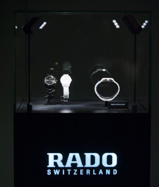 Collection Rado HyperChrome présentée à Dubaï