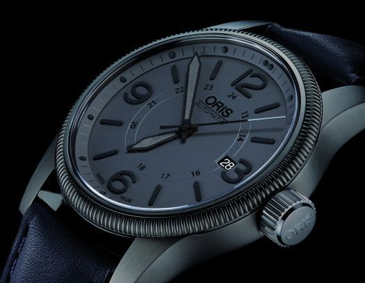 Oris Big Crown Date gris furtif