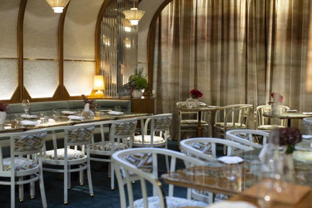 Restaurant La Scène de Stéphanie Lequellec par Maurine Tric