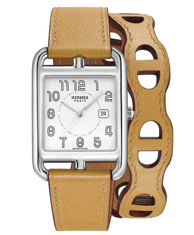 Hermès Cape Cad bracelet cuir Chaine d'ancre