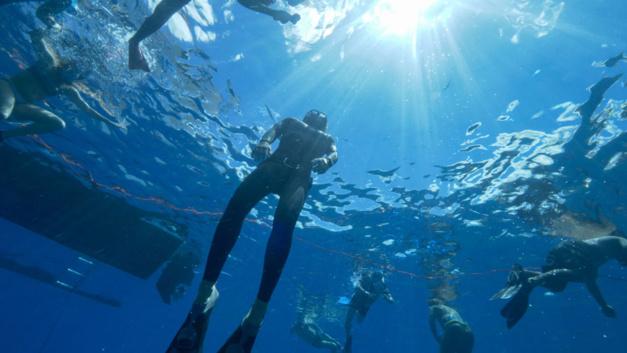 Panerai : une expérience unique pour 15 clients avec Guillaume Nery en Polynésie