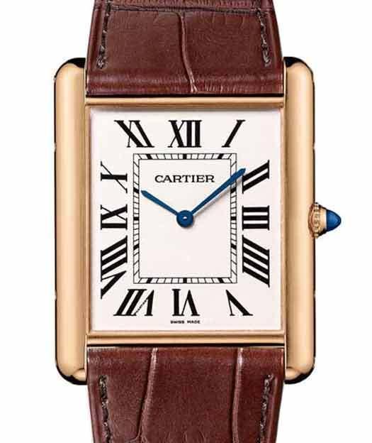 Cartier : la Tank Louis Cartier XL extra-plate
