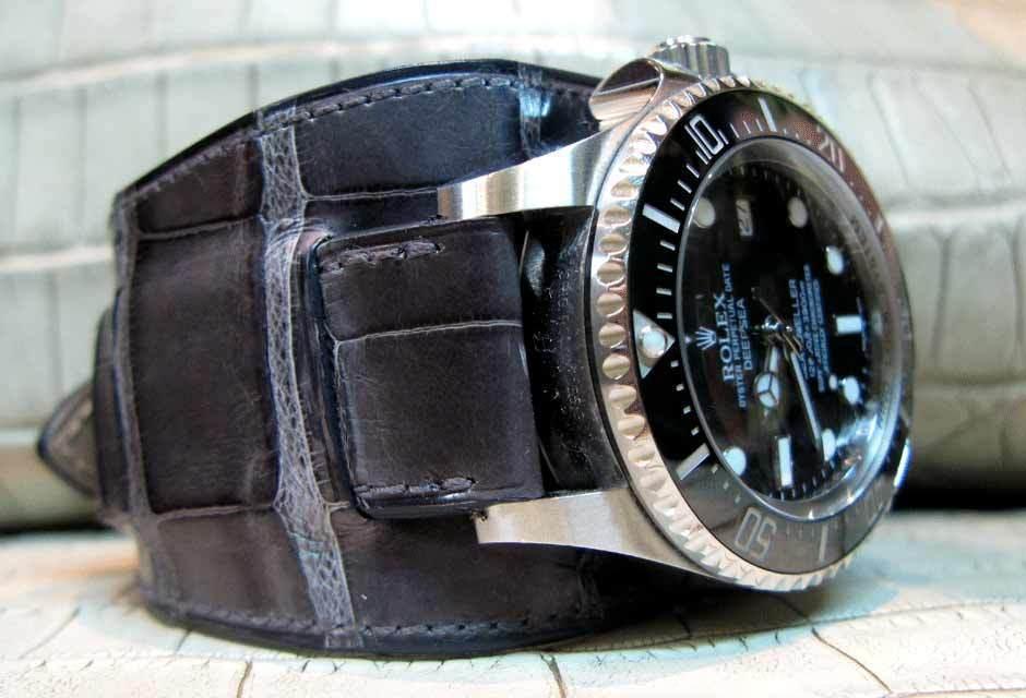 Radika,  le tannage « spécial alligator exclusif ABP » : la chronique de l'Atelier du Bracelet Parisien