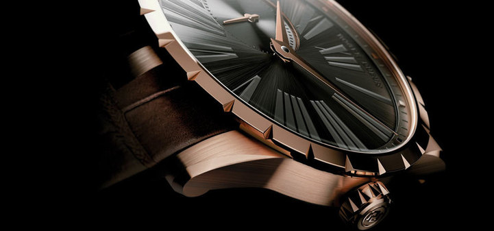 Roger Dubuis Excalibur en or rose