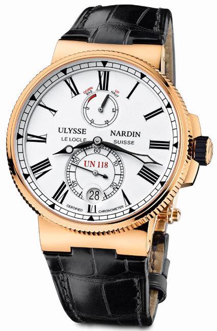 Ulysse Nardin Marine Chronometer Manufacture : hommage aux chronomètres de marine