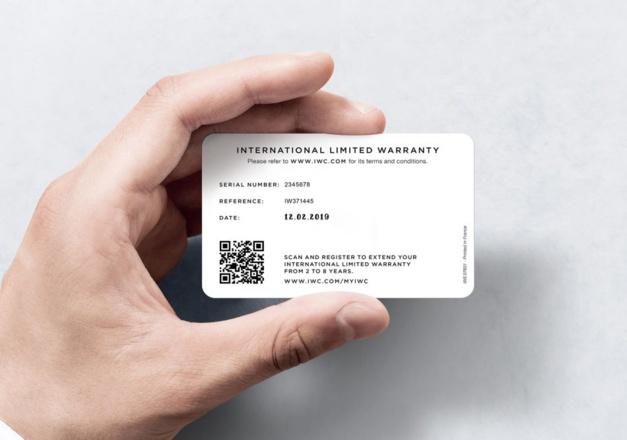 IWC garantie