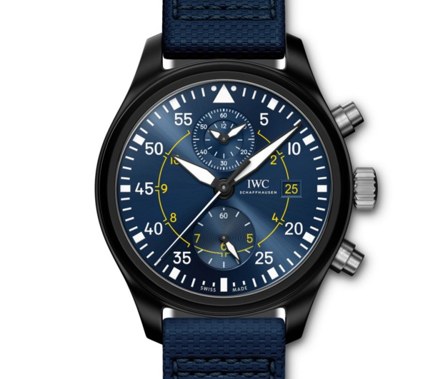 "IWC Aviateur Chronographe ""Blue Angels"""