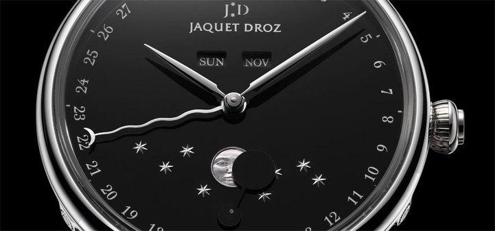 Jaquet Droz : Eclipse onyx et Grande Heure Onyx, mariage réussi de l'onyx et de l'acier…