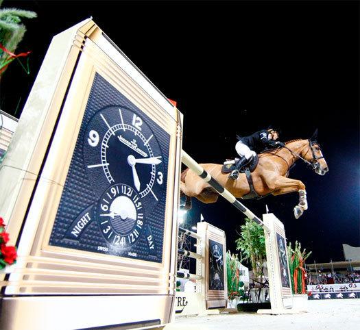 La cavalière Edwina Tops-Alexander, amie de Jaeger-LeCoultre, annonce sa participation aux JO 2012