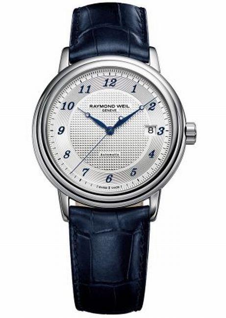 Raymond Weil : une montre Maestro pour lutter contre le cancer