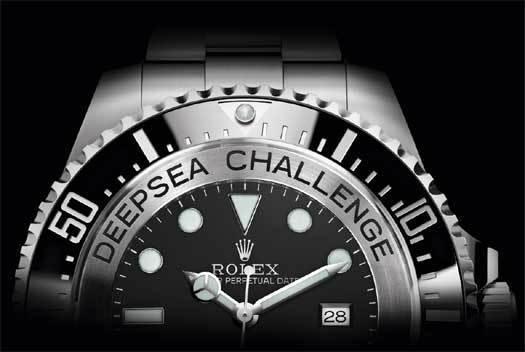 Rolex Deepsea Challenge : le fond des océans… tout simplement