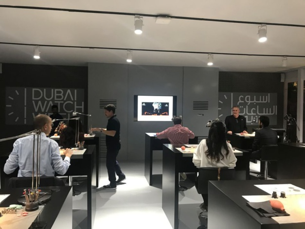 Dubai Watch Week Masterclass Preziuso