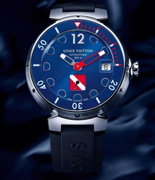 Louis Vuitton Tambour Diving II Bleu