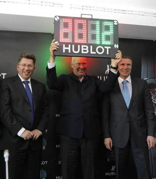 Hublot King Power : montre officielle de l'Euro 2012 Ukraine et Pologne