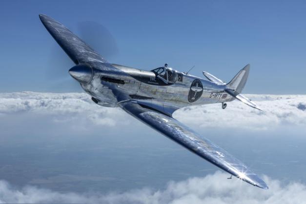 The longest flight Silver Spitfire