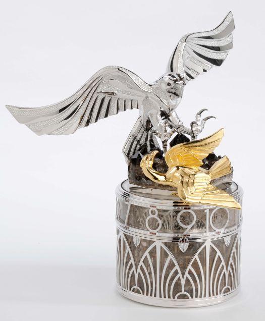 Le faucon et l'outarde de Parmigiani Fleurier