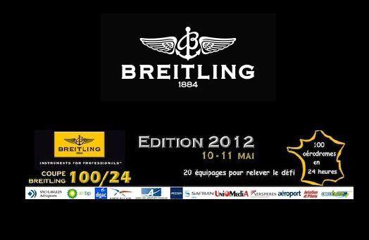 Coupe Breitling 100/24 – Édition 2012 : vingt équipages vont relever le défi