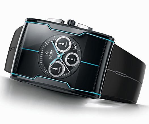 Rado R-One : chronographe résolument futuriste