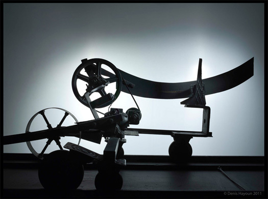 M.A.D. Gallery MB&F Genève : exposition Denis Hayoun « A Vision of Tinguely's World »