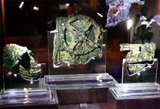 Hublot : Anticythère fait son entrée au Musée Archéologique d'Athènes