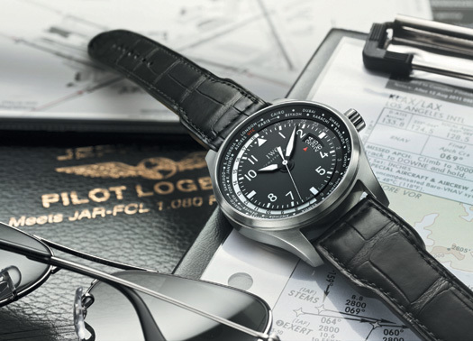IWC Montre d'Aviateur Heure Universelle : bagage à main