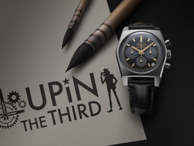 Zenith A384 Revival Lupin The Third Edition
