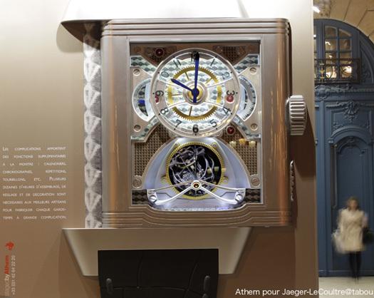 Jaeger-LeCoultre : une horloge géante place Vendôme masque les travaux d'agrandissement de la boutique