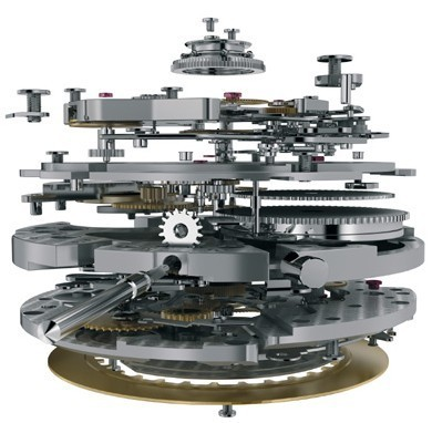 Ulysse Nardin fait l'acquisition du mouvement chronographe manufacture Ebel