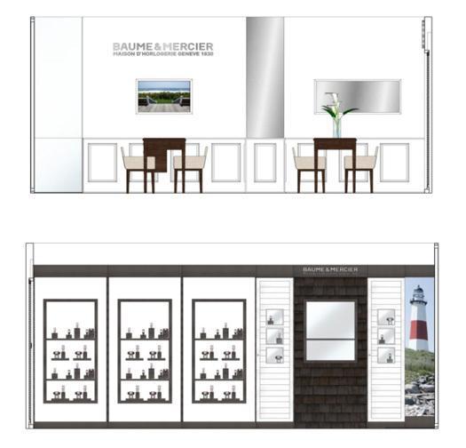 Baume & Mercier dévoile son premier espace chez Harrison 18 rue de la Paix 75002 Paris