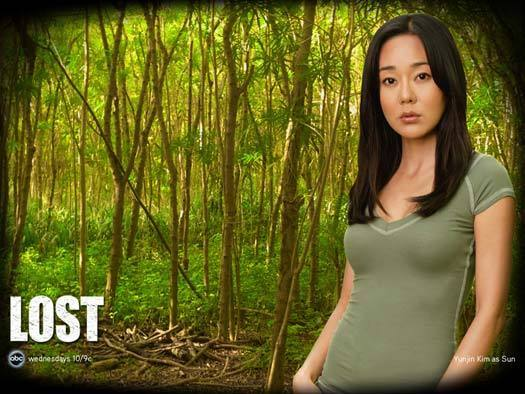 Yunjin Kim dans Lost, copyright ABC