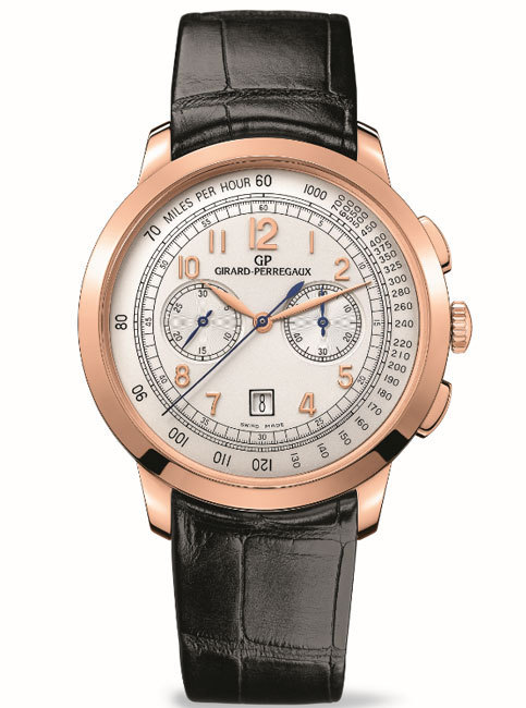 Girard-Perregaux chronographe 1966 42 mm : la classe, tout simplement…
