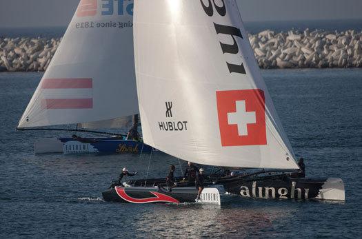 Hublot aux côtés d'Alinghi pour défendre les couleurs de la Suisse sur les plans d'eau du monde entier