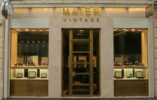 Vulcain arrive chez Maier Vintage à Lyon