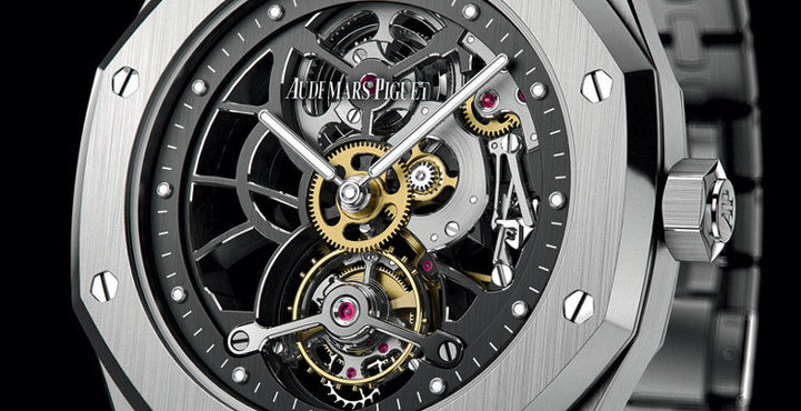 Audemars Piguet Tourbillon Royal Oak Extra-plat Squelette