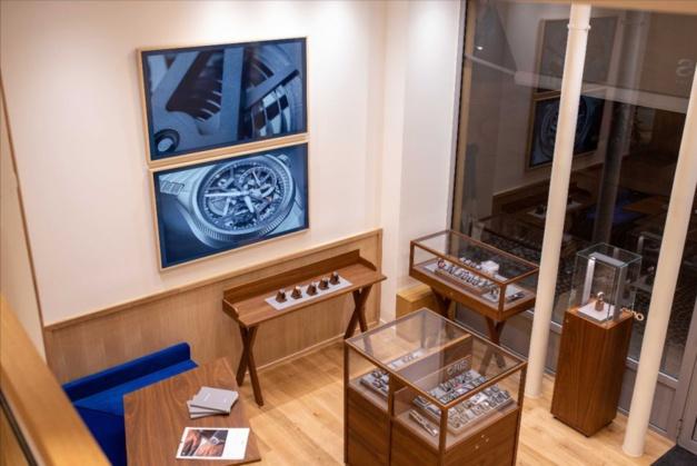 Oris ouvre sa première boutique en France à Paris en plein coeur du Sentier