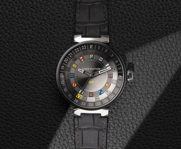 Louis Vuitton Tambour Moon Dual Time (quartz)